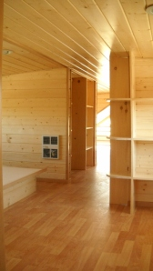 Loft area, bedroom.