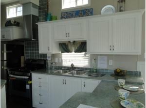 Kitchen area.