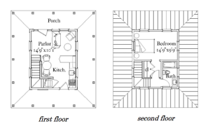 First and Second Floor.