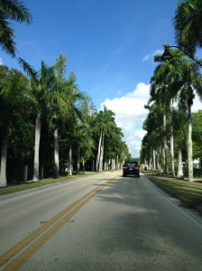 McGregor Boulevard, Fort Myers, Florida.