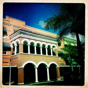 Downtown, Fort Myers, Florida.