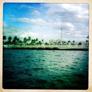 Caloosahatchie River, Fort Myers, Florida.