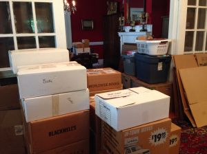 Packing. Endless packing!