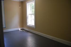Grey floors.