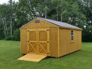 Example of the shed, but mine will have two windows on the left side facing the potager and cottage.