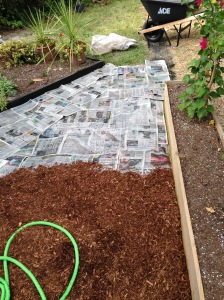 Add cypress mulch.