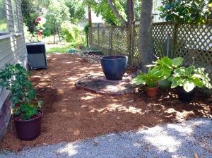 A new shade garden.