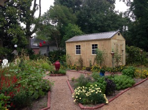 The new shed.