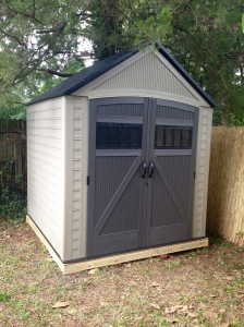 New garden shed.