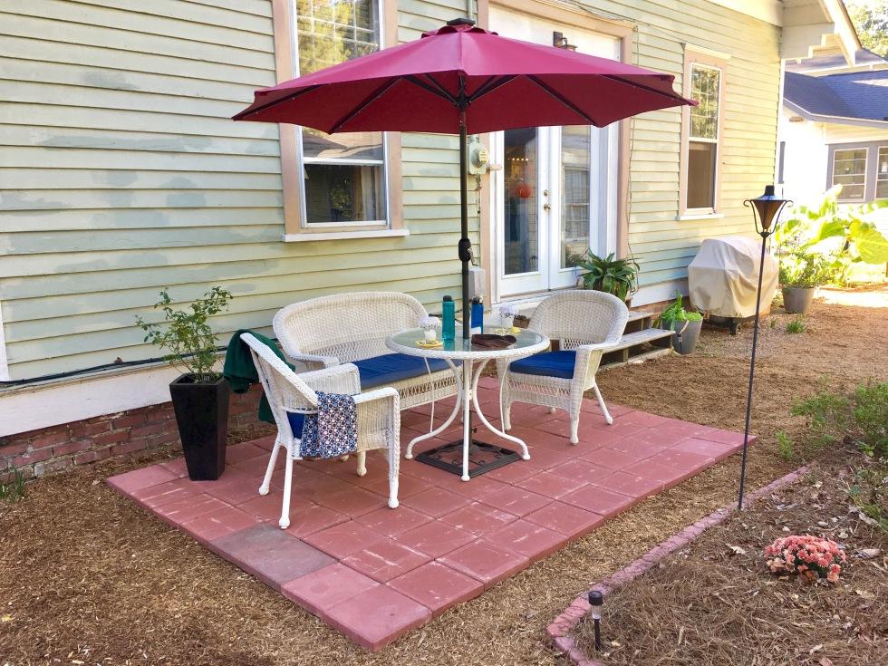 New patio