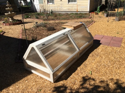 Cold frame kit.